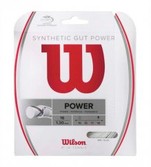 Wilson SYNTHETIC GUT POWER 12,2m 1,30mm