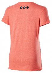 Wilson W NYC Aerial Tech Tee coral