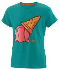 Wilson G Inverted Cone Tech Tee tropical green